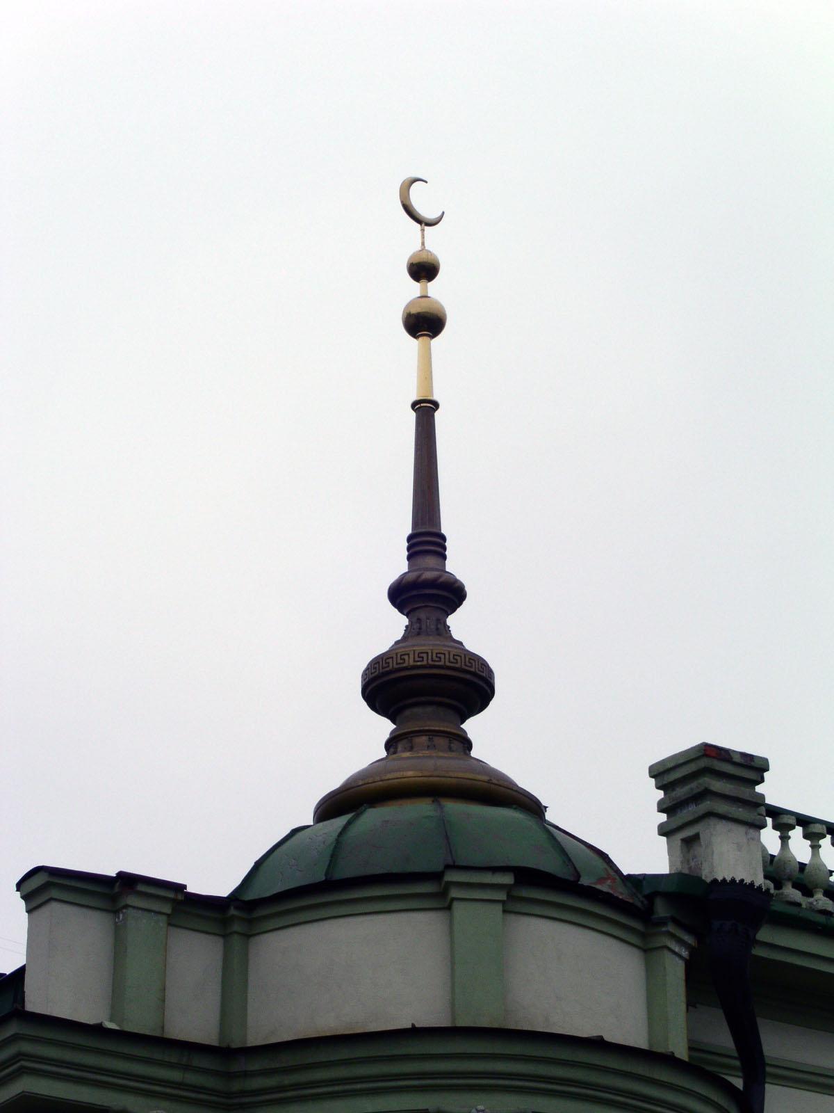 Фото Шпиль здания Духовного управления мусульман Республики Татарстан (ДУМ РТ)