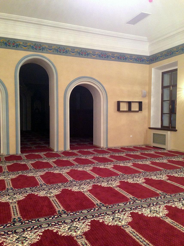 Фото Роспись в Галеевской мечети