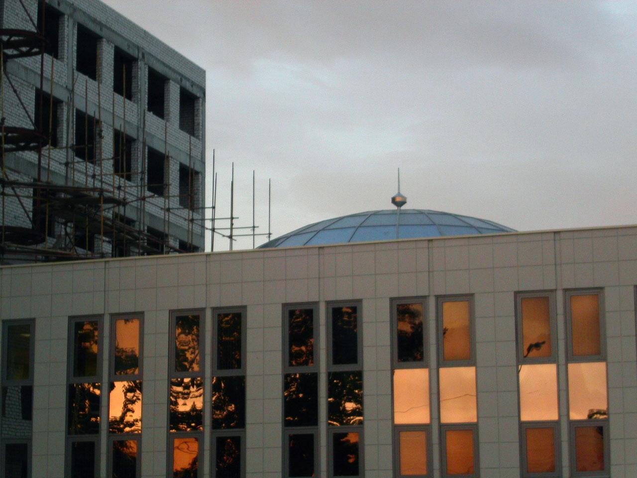 Фото Шпиль здания Управления ГИБДД МВД по РТ